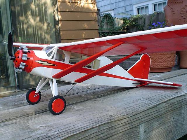 Bellanca Skyrocket (oz2062) by Hurst Bowers from Flyline 1973