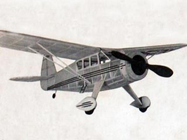 Howard DGA-8 - completed model photo