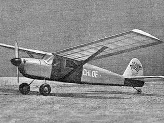 Chloe (oz2091) by Ron Darr from Aeromodeller 1957