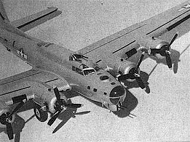 B-17G (oz214) by Keith Laumer, John Simmance from American Modeler 1963