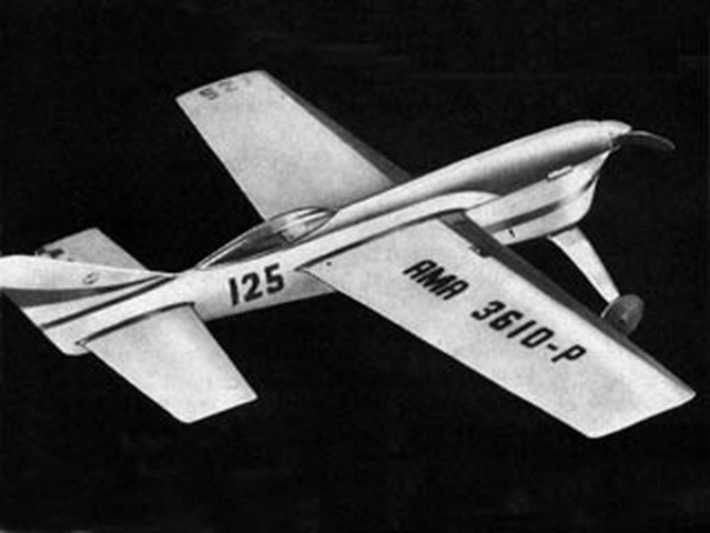 Smith-Stegens Splinter (oz2148) from American Modeler 1961