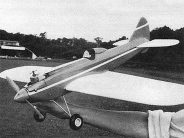 Speedster (oz2163) by John Stroud from Aeromodeller 1982