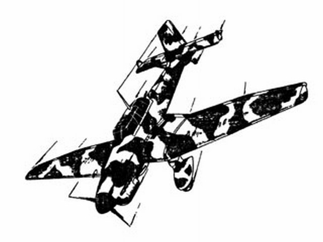 Junkers Ju 87B Stuka (oz2174) from Ace Whitman