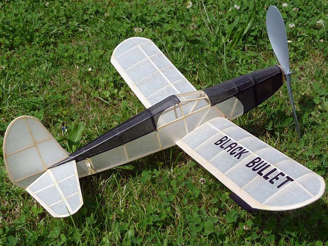 Black Bullet (oz2199) from Modelcraft 1942