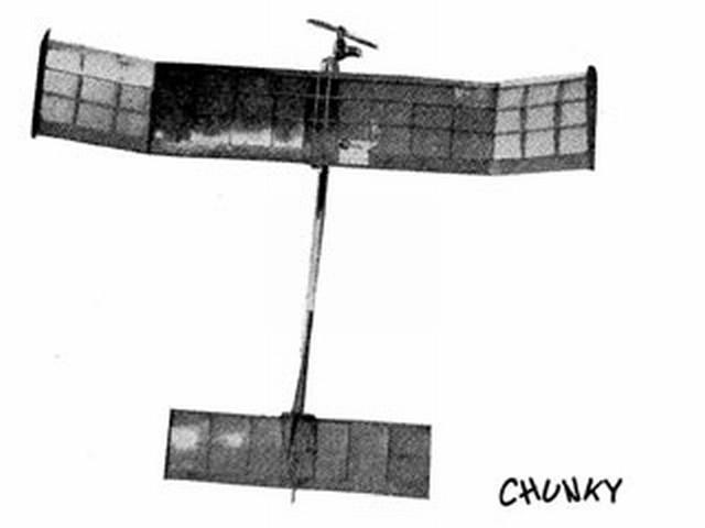 Chunky (oz2211) by Aeromodeller Staff from Aeromodeller 1960