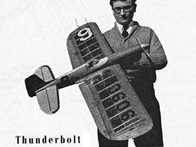 Thunderbolt (oz2219) by Bill Morley from Aeromodeller 1955