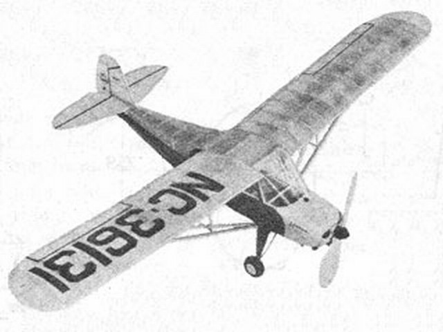 Aeronca Champion (oz2243) by James Noonan from Air Trails 1946