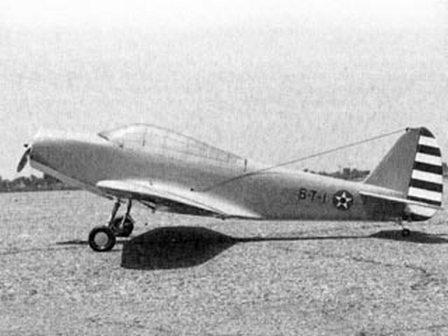 Douglas TBD Devastator (oz2245) by Dan Reiss from Flying Models 1983