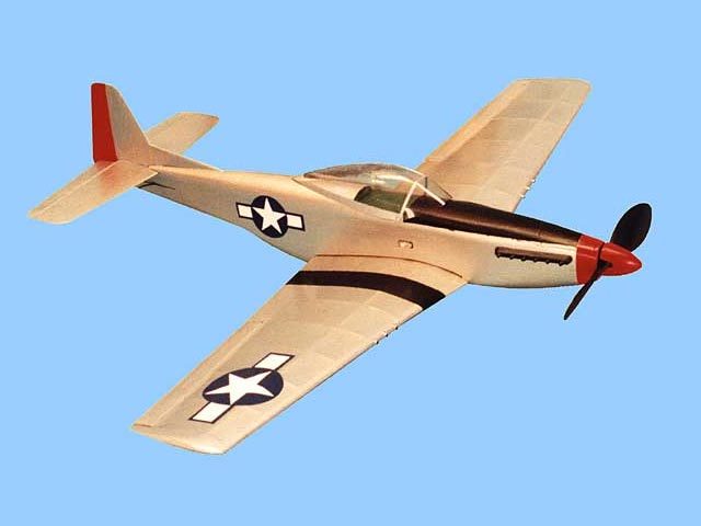 Micro Mustang (oz2271) by Dave Robelen from Model Airplane News 2002