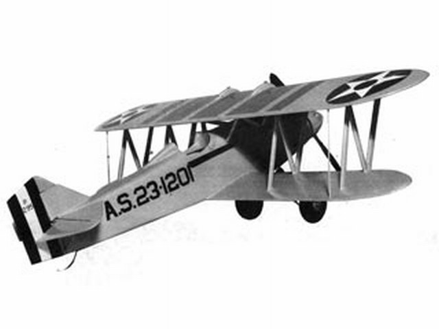 Curtiss XPW-8 - completed model photo