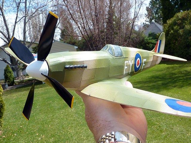 Spitfire IX - oz2295 - Neal Green