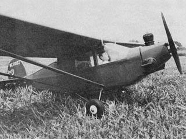 Alexander 1931 Flyabout - completed model photo