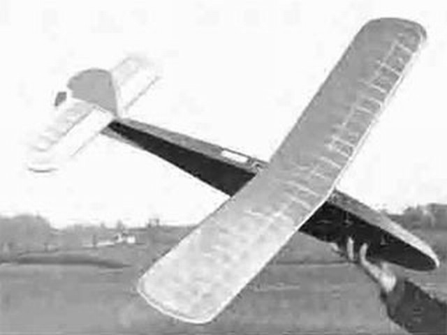Contest Glider (oz2318) by Ron Warring from Model Aeronautics 1949