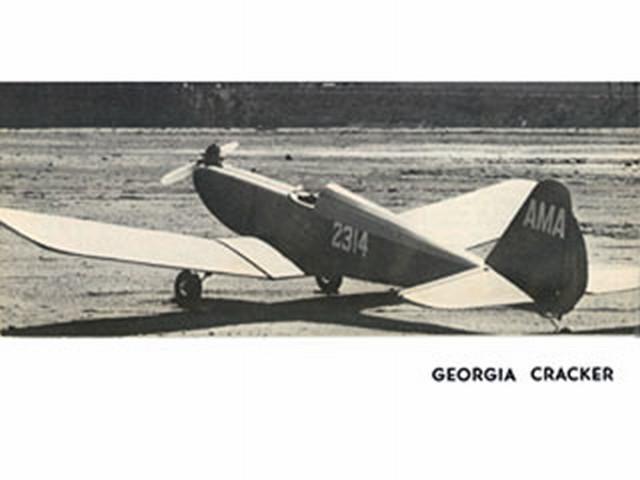 Georgia Cracker - completed model photo