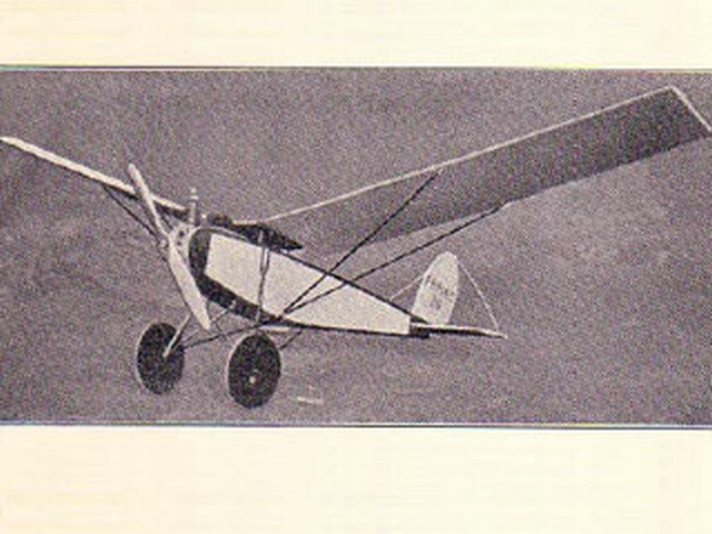 Hawk Special - H Dowsett - 1934 - 98in
