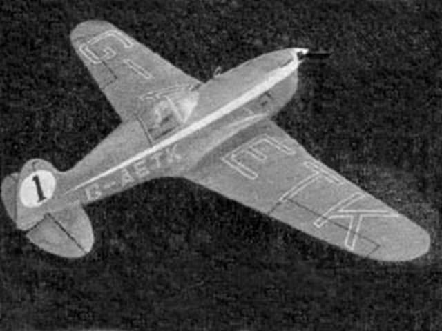 T.K.4 Team Racer (oz2343) by Ron Moulton from Aeromodeller 1951