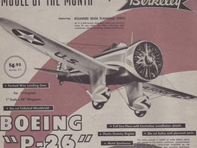 Boeing P-26 (oz236) by Don McGovern from Berkeley 1959