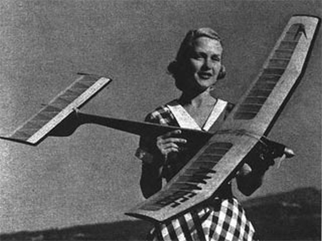 Amazoom 400 (oz2368) by Stan Hill from Model Airplane News 1955