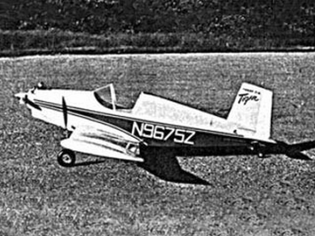 Thorp T-18 Tiger (oz2403) by R Jess Krieser from American Modeler 1966