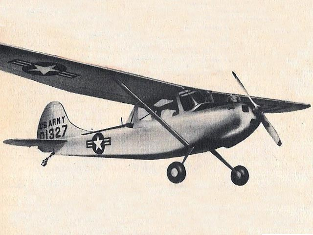 Cessna L-19 Bird Dog (oz242) by Henry Struck from Berkeley 1953