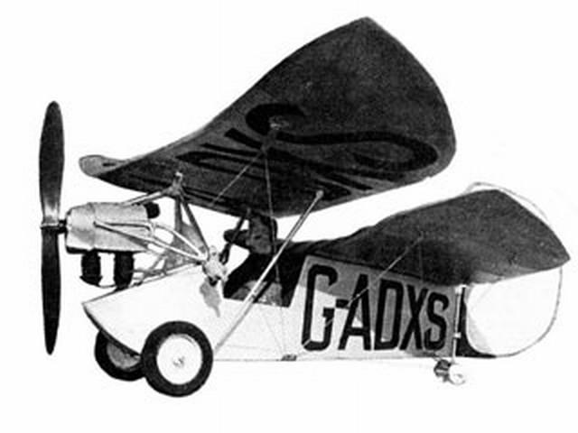 Flying Flea (oz2425) by Robin James from Aeromodeller 1981