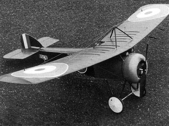 Sopwith Swallow (oz2426) by Bill Dennis from Aeromodeller 1987