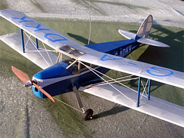 DH.87B Hornet Moth - completed model photo
