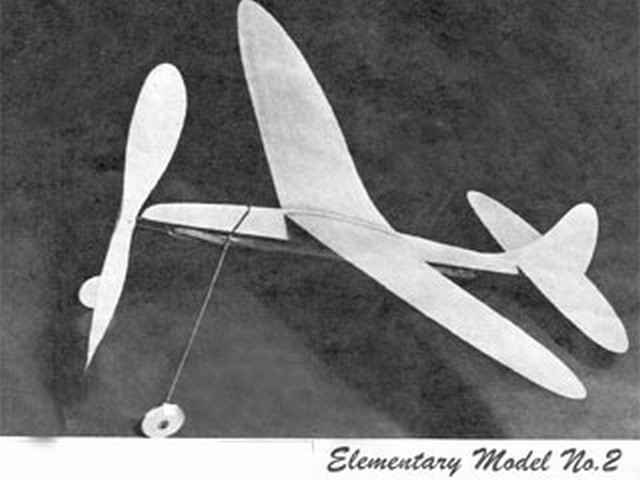Elementary Model no.2 (oz2440) by HA Thomas from Air World 1947