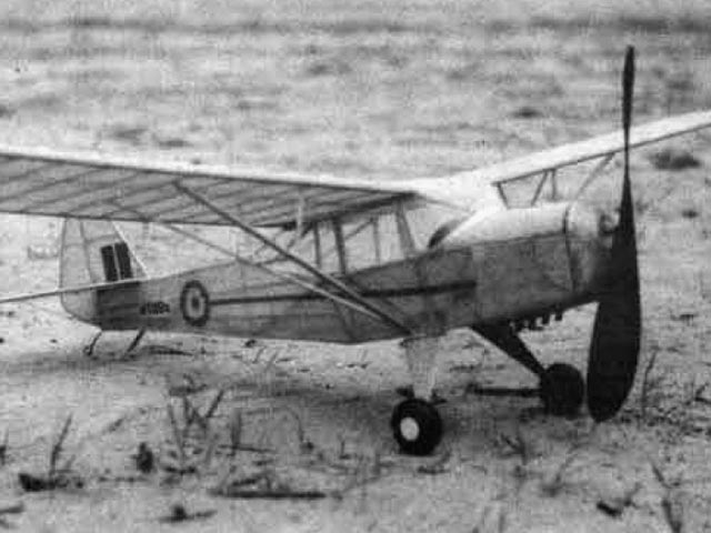 Auster J-5 Autocrat (oz2449) by Steve Gardner from Model Builder 1980