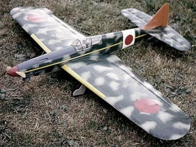 Kawasaki Ki-61 Tony - completed model photo