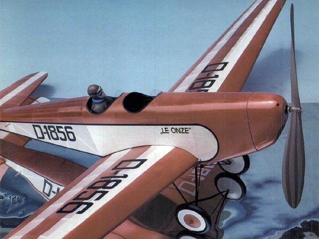Messerschmitt M23b (oz2459) by Bill Noonan from Model Builder 1976