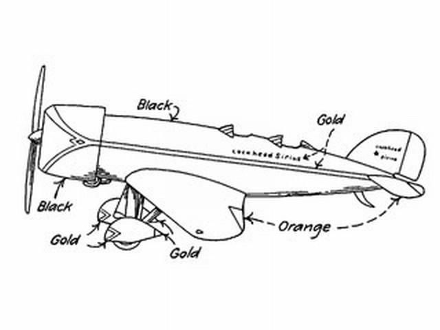 Lockheed Dog Star (oz2464) from Model Airplane News 1930