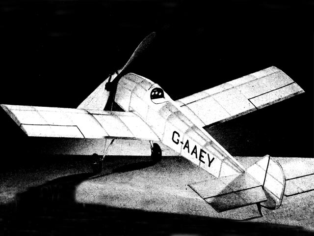 Gadfly (oz2475) by Sherman Gillespie from Model Airplane News 1955