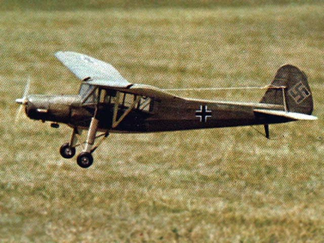 Fieseler Fi-156 Storch (oz2488) by Hurst Bowers from Model Aviation 1976
