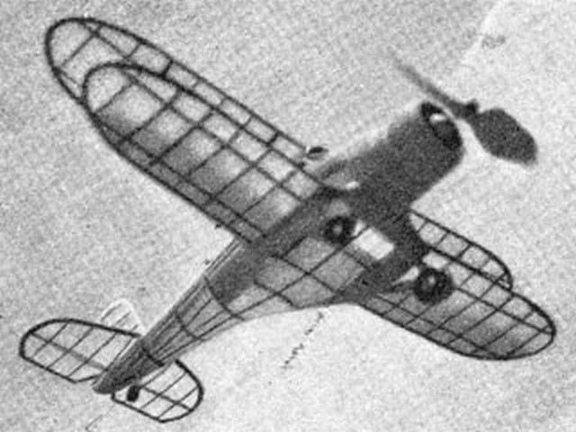 Beechcraft D17 (oz2491) from Air Trails 1937