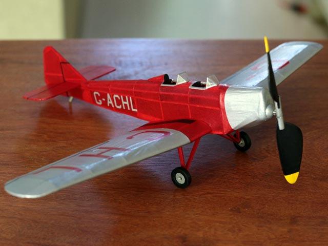 Miles M.2 Hawk (oz2494) by Joe Ott from Ace Whitman 1935