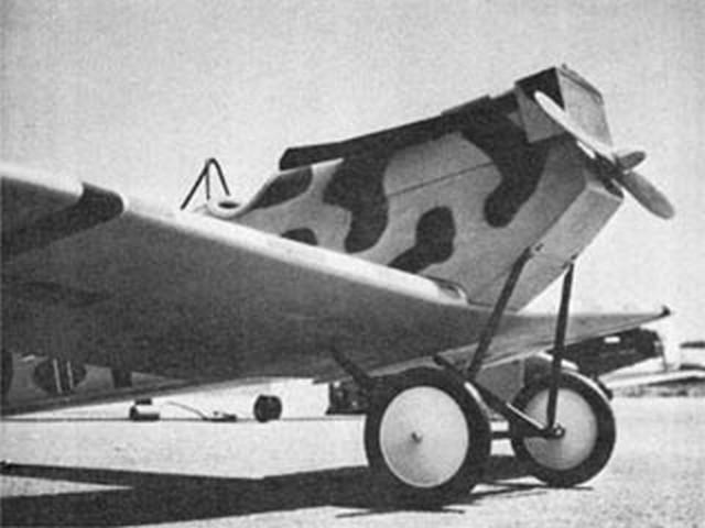 Junkers D-1 (oz2496) by Joseph Tschirgi from American Aircraft Modeler 1968
