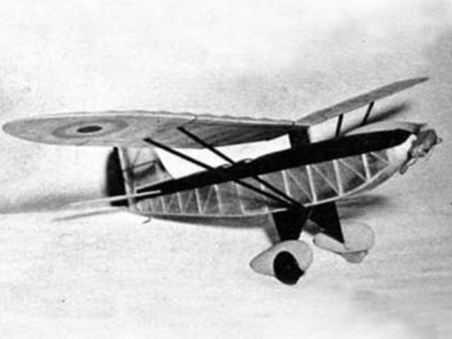 Renard R-2 (oz2504) by Al Casano from Air Trails  1947