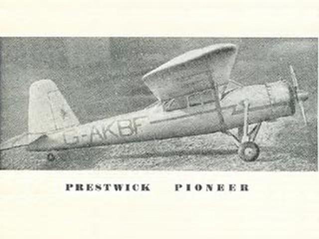 Prestwick Pioneer (oz2525) by Robert Burns from Aeromodeller 1951