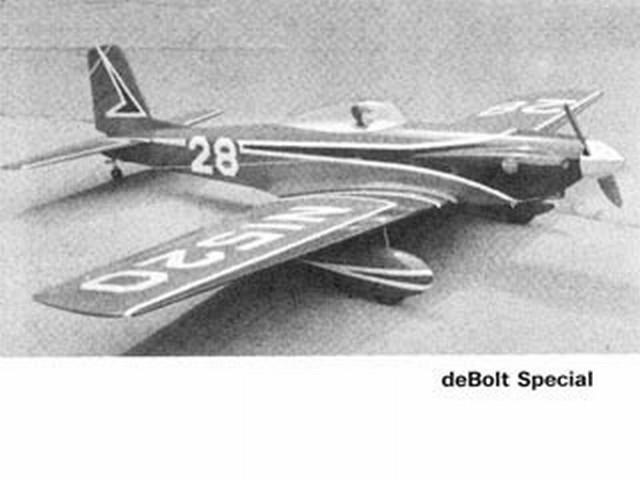 DeBolt Special (oz2534) by Hal DeBolt from American Modeler  1967