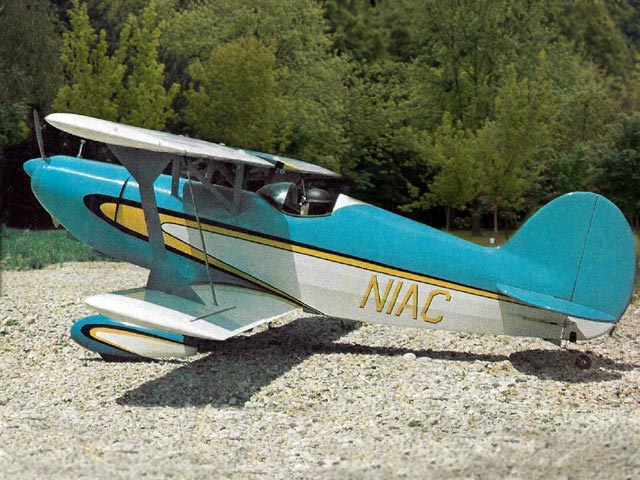 EAA Acro Sport - completed model photo