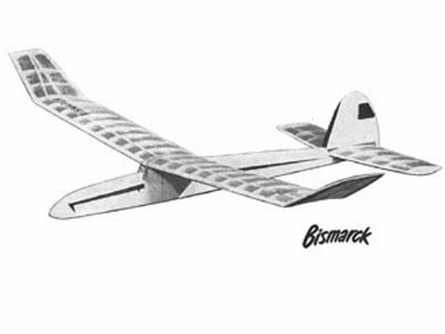 Bismarck (oz2567) by R Walsh from Model Aircraft 1952