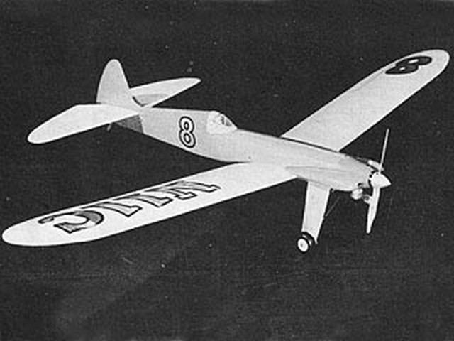 Daredevil (oz2570) by Dick Ealy from Model Airplane News 1953