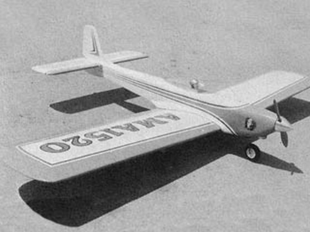 Chief (oz2582) by Hal DeBolt from Model Airplane News 1967