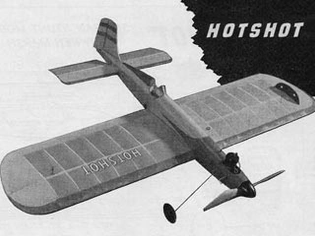 Hotshot (oz2604) by Ken Marsh from Model Aviation 1950