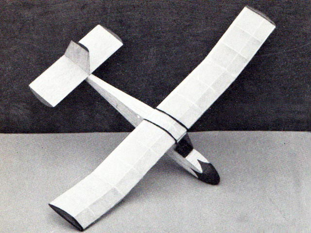 Airflo Glider (oz2617) by Ray Malmstrom from Eagle book of Model Aircraft 1959