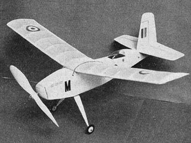 Starcrest (oz2630) by Ray Malmstrom from Eagle book of Model Aircraft 1959