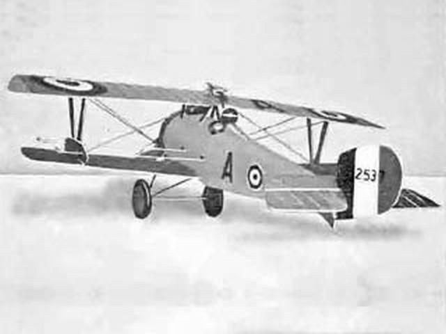 Nieuport Biplane (oz2635) by RD Randerson from Model Aeronautics