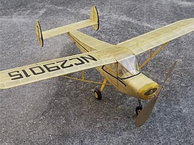 General Aviation Skyfarer (oz2643) by Earl Stahl from Model Builder 1975