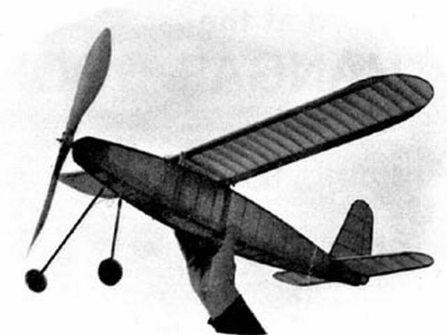 Parastar (oz2646) by Bob Copland from Aeromodeller 1974